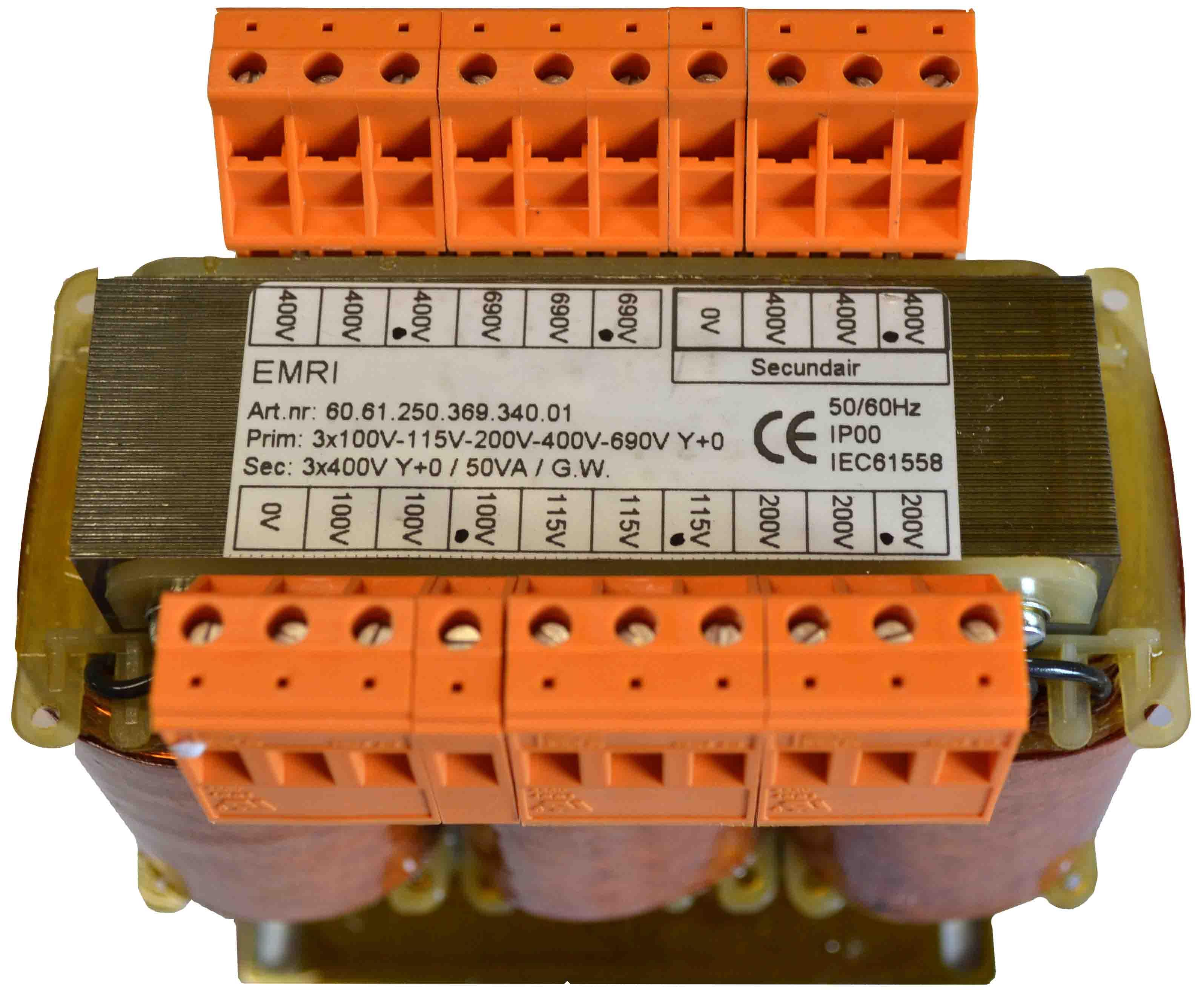 3 Phase measuring transformer - Voltage / sensing